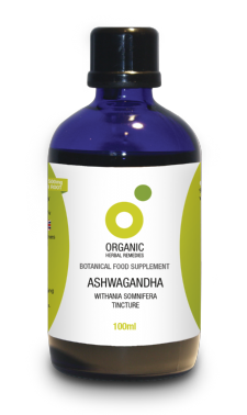 Organic Ashwagandha Tincture | Withania Somnifera | Winter Cherry